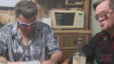 Trailer Park Boys React to guy injecting himself with mushroom tea.