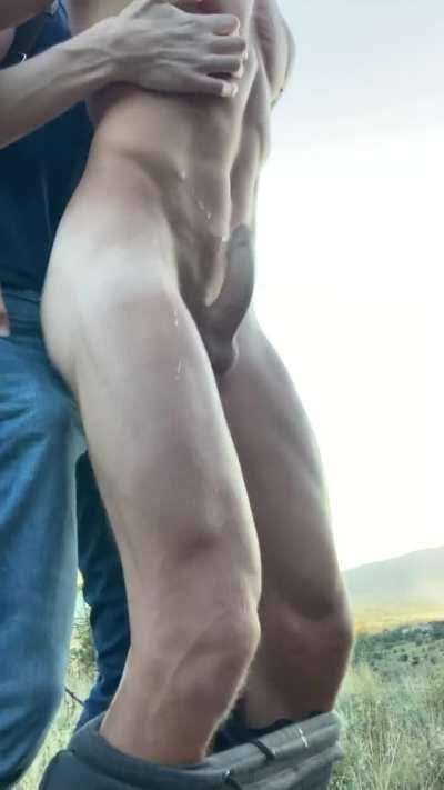It is so much more fun when he fucks me outside...