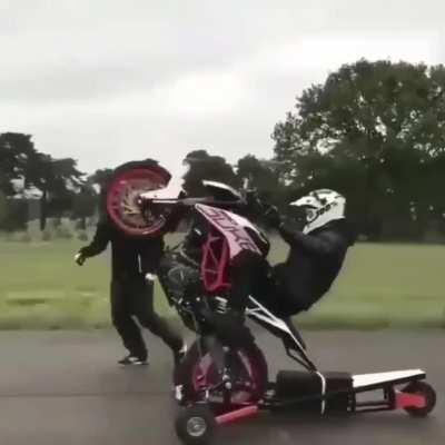 Wheelie Trainer for Motorcycles!