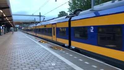 New dutch train sounds fun
