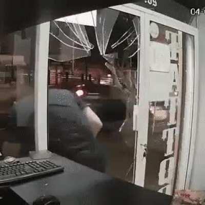 Thinking the door was open