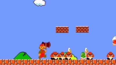 Mario fight zombie?!?!?!?!