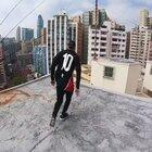 High rise parkour in Hong Kong