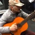 Actor plays the good, the bad and ugly theme by himself