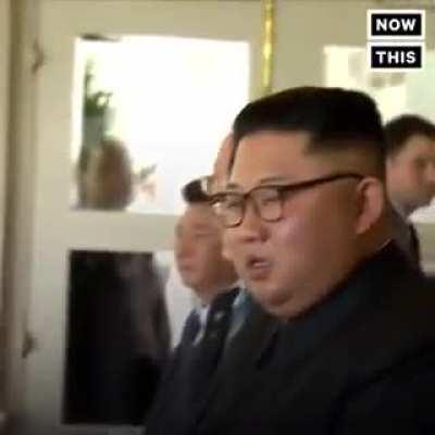 Kim Jong-un: Did he just call me ......