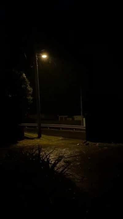 It's past midnight here in Australia, the suburban noises are silent - and the rains can echo