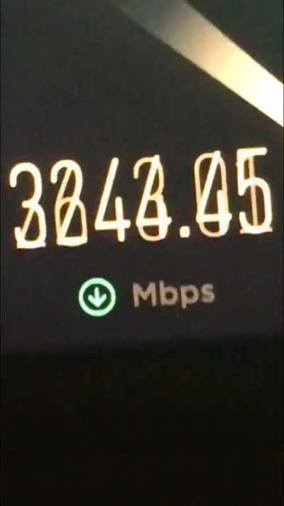My internet is faster than yours