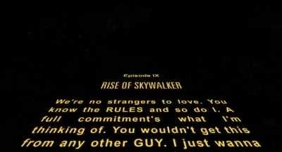 I remade the intro to Ruse of Skywalker