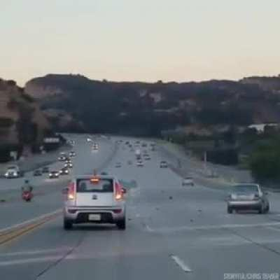 WCGW if you try to run a biker off the highway