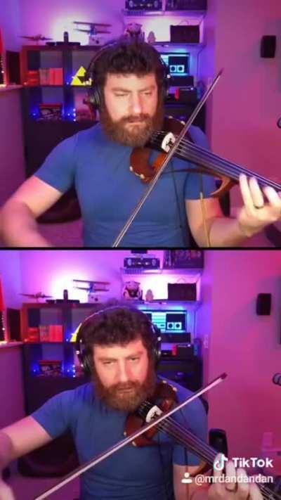 [OC] Coffin Dance with Myself (Violin)
