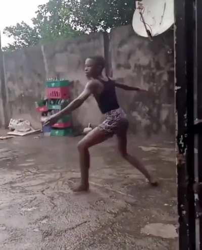 What beautiful dancing