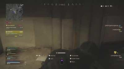 Me and the boys got sieged in the bunker. Teammate with the major big brain move to break the line.