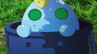 Rape slime has acquired a target. I repeat, rape slime has found a target.