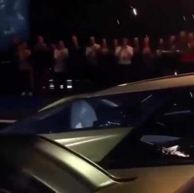 Batmobile inspired Lamborghini