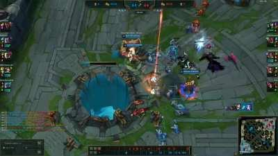 Fun fact of the day that I've learnt, Morde can hit the nexus in his ulti :')