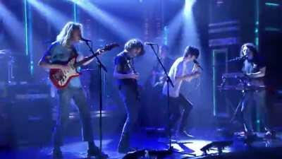 I found bodys live on fallon and downloaded it, tried uploading to youtube but it got striked immediately, so here you go.