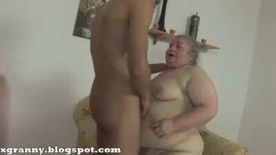 Ugly Fat Grandma With Young Dick