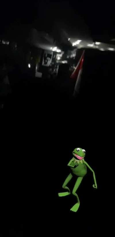 Kermit, no!
