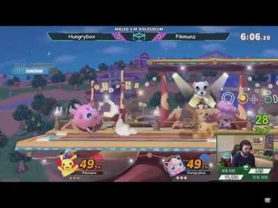 Been a while without a perfect Smash Bros. scream