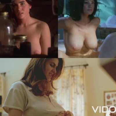Titties Battle: Jennifer connelly vs Julia Benson vs Alexandra Daddario