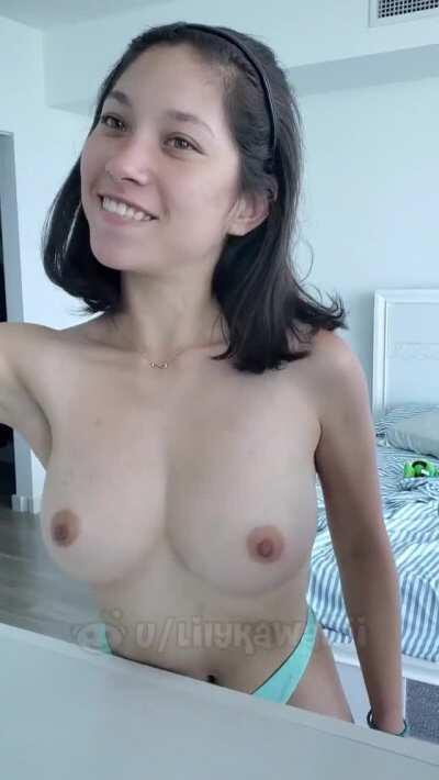 Do you like this MAgic trick ? ( Get More Content Of Her In The Comments )