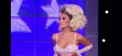 On RuPaul's celebrity drag race
