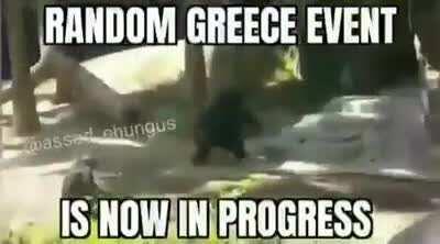 random greece event
