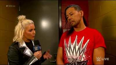 Shinsuke Nakamura hilarious interview with Renee Young
