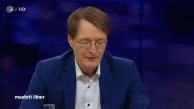 Karl Lauterbach bei Illner über den Grund warum der Altersdurchschnitt auf den Intensivstationen sinke