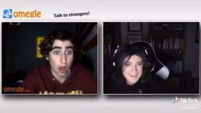 Giving a compliment on omegle