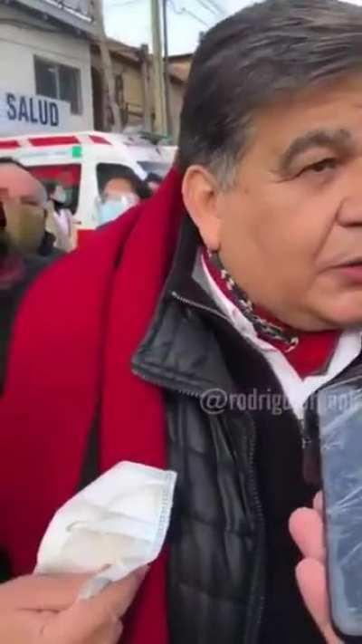 Declaraciones de Mario Ishii, en Jose C. Paz, investigado por encubrimiento de narcotráfico luego de ser filmado afirmando el translado de