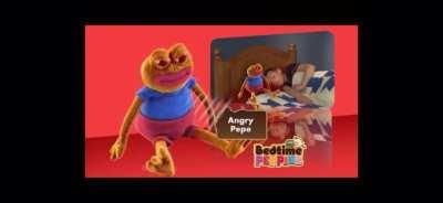 Bedtime Pepe.