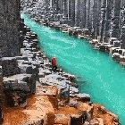 This Heavenly Glacial Gates in Iceland