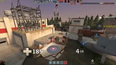 guy lands rocket
