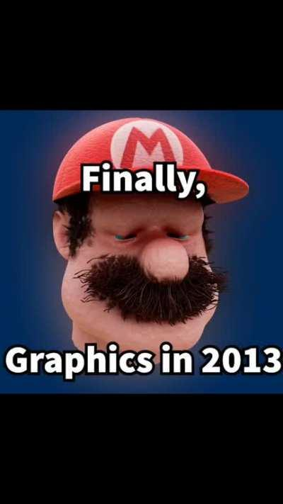 He will never be graphics