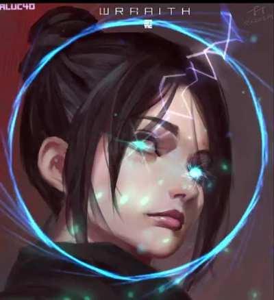 Wraith void specialist FanArt animation + voice lines remix