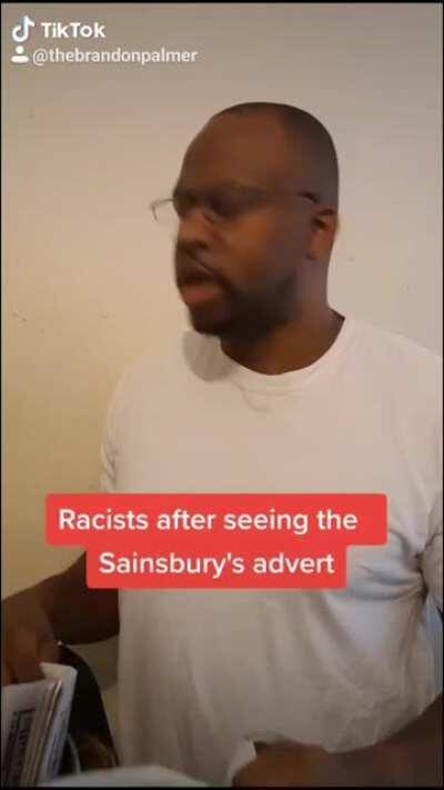 Racist Sainsbury Ad Reaction