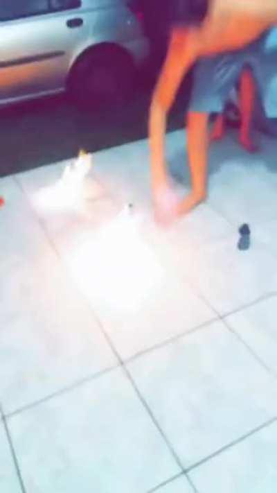 WCGW playing with fire