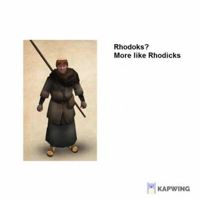 Jeremus absolutely destroys a Rhodok (Sound Warning!)