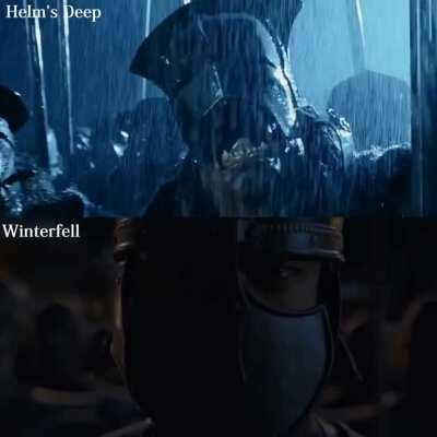 Helm's Deep vs. The Battle of Winterfell
