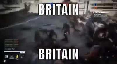 "EWww britishh (""poeple"")....... 🤢🤮"