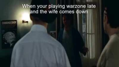 every time i play warzone with the boys