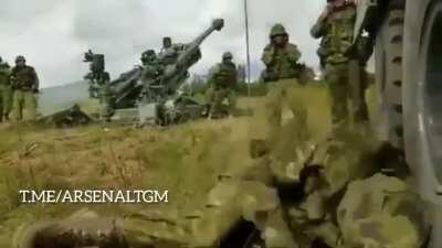 WCGW sleeping on an artillery field 😴