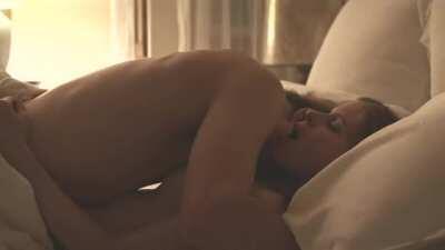 Kate Mara topless sex scene in A Teacher episode 5