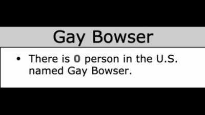 The Return of Gay Bowser