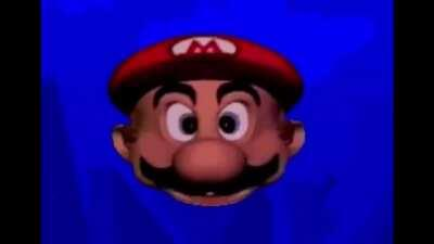 Mario wants to sing a song for you