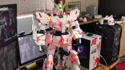 Unicorn Gundam (automated)