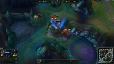 I bring you the peak of autofilled gold elo jungling (warning: brain damage imminent)