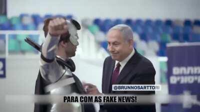 Bolsonaro e Benjamin Netanyahu (Por Bruno Sartori)