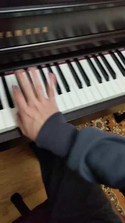 Getting dizzy playing Chopin